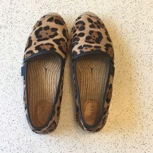 Gucci Leopard Espadrilles